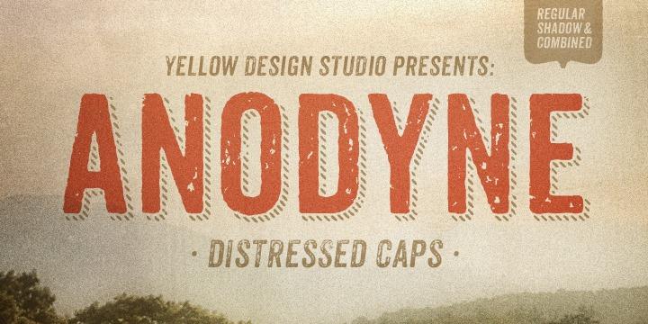 Anodyne Font by Yellow Design Studio