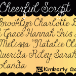 Janda Cheerful Script