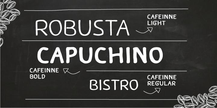 Caffeine-Font-by-Chatnarong-Jingsuphatada