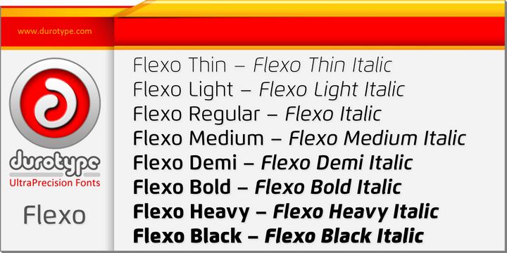 Flexo-Font-by-Ben-Blom