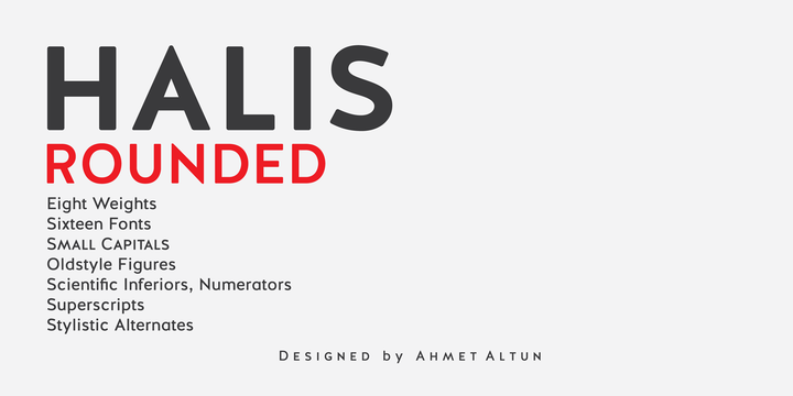 Halis-Rounded-Font-by-Ahmet-Altun