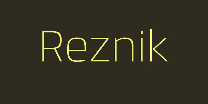 Reznik-Font-by-Jonathan-Hill