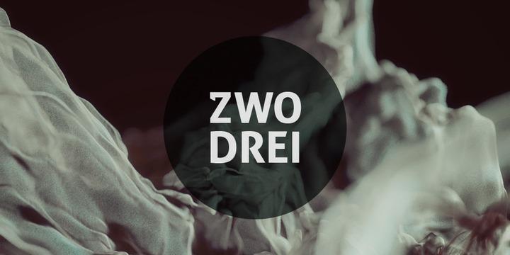 Zwodrei-Font-by-Lukas-Bischoff