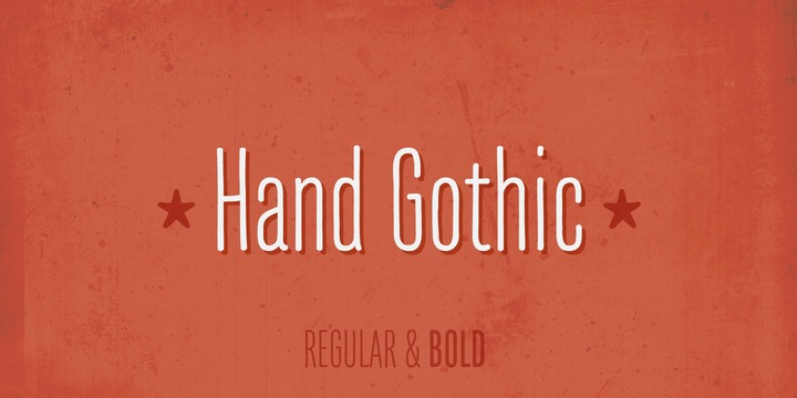 Hand-Gothic-Font-by-Joel-Carrouche