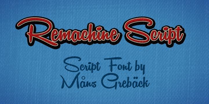 Remachine Script by Mans Greback