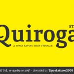 Quiroga Serif Std
