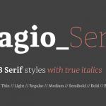 Adagio Serif
