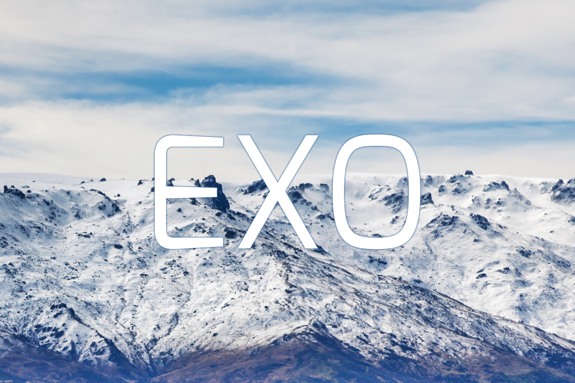 Exo-font-by-Natanael-Gama