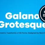 Galano Grotesque