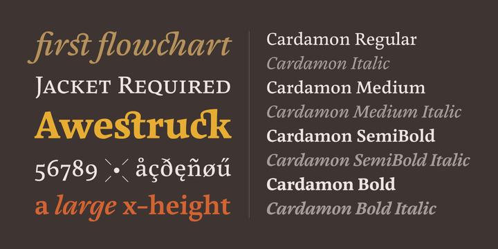 Cardamon-Font-by-BrigitteSchuster